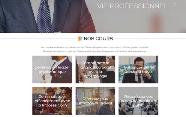 Skilleos, plateforme, cours en ligne, apprendre, web, start-up