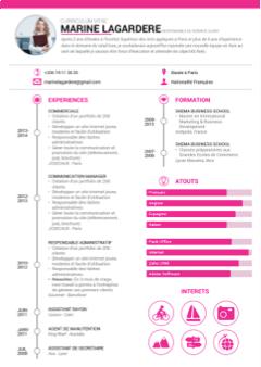 Présentation CV,CV format