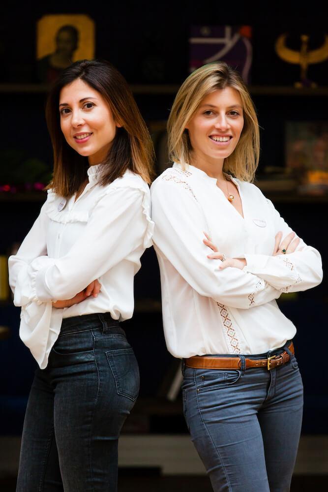 charlotte et joy, fonatrices de cook angels