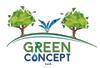 Logo de green concept