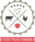 Logo de food truck fermier