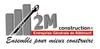 Logo de 2M CONSTRUCTION