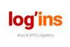 Logo de Log'ins Ares & XPO Logistics
