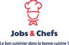 Logo de jobs and chefs
