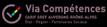 Logo de Via Compétences (CARIF OREF Auvergne-Rhône-Alpes)